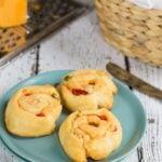 Pimiento Cheese Spirals