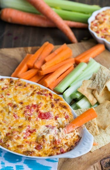 Baked Pimeinto Cheese Dip