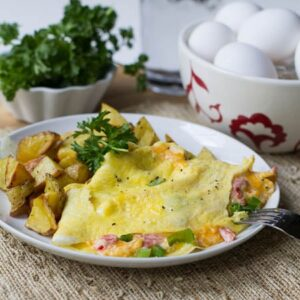 Pimiento Cheese Omelet
