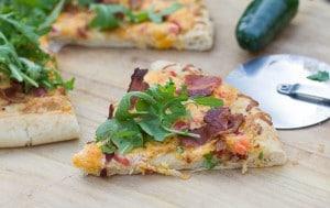 Pimiento Cheese Pizza