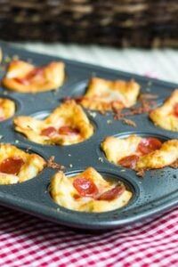 Pepperoni Pizza Poppers