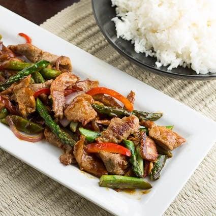 Pork and Asparagus Stir-Fry