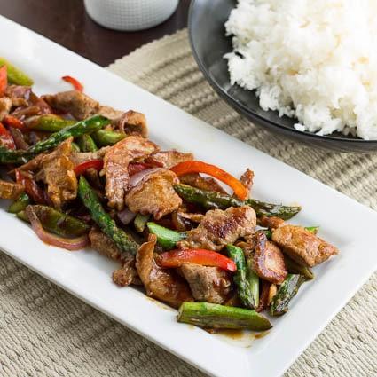 Pork and Garlic Stir-Fry - Spicy Southern Kitchen