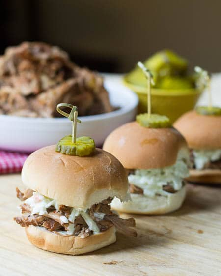 Crockpot Carolina-Style Pulled Pork