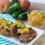 Pecan-Crusted Pork Medallions with Spicy Peach Chutney