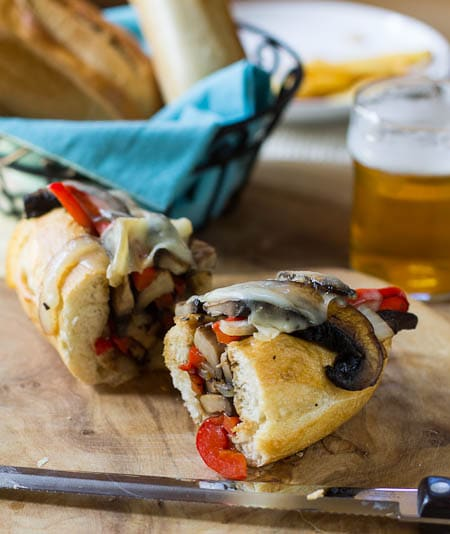 Portobello Cheesesteak