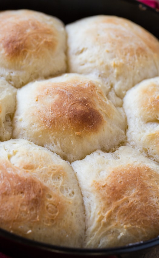 These Potato Rolls are made from leftover mashed potatoes and have a hint of sweetness.