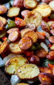 Oven-Roasted Sausage and Potatoes