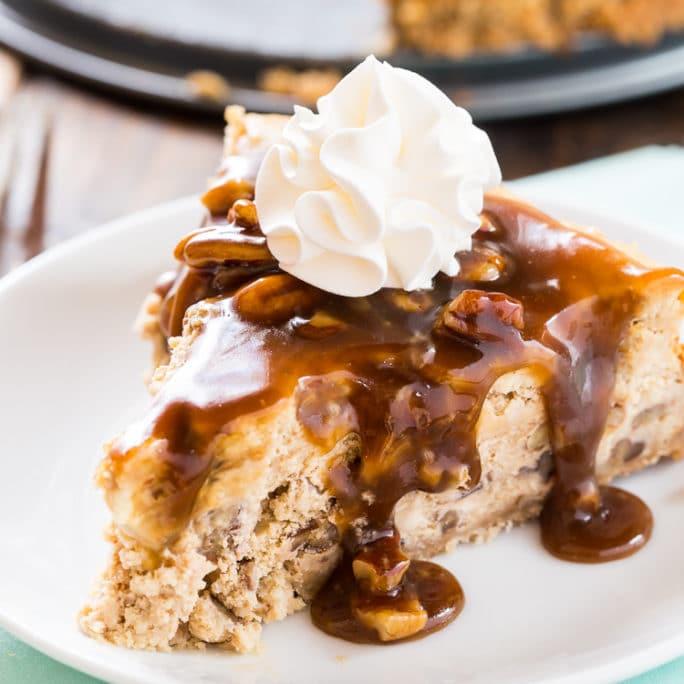 Pecan Praline Cheesecake - Spicy Southern Kitchen