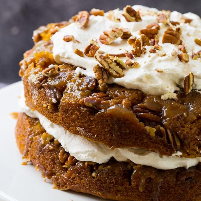 Pumpkin Praline Torte recipe