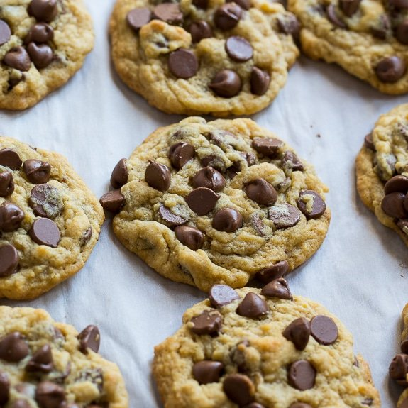 Chocolate Chip Pudding Cookies are super soft and chewy and loaded ...