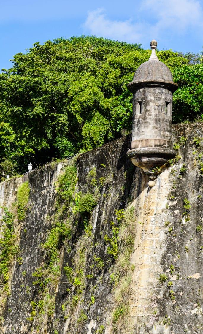 Wall around Old San Juan