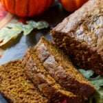 Spicy Pumpkin Bread - with a hefty dose of fall spices, this moist pumpkin bread is not lacking in flavor.