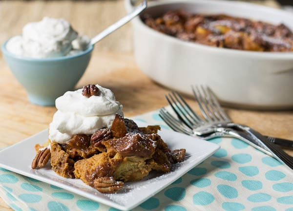 ... Bread Pudding with Bourbon Whipped Cream - Spicy Southern Kitchen