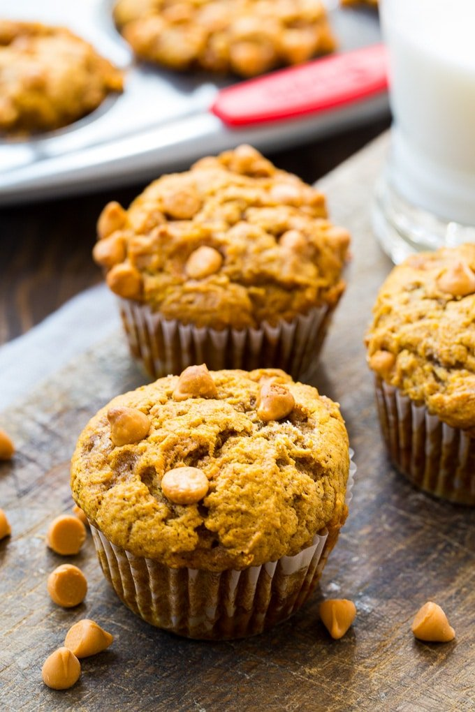 Pumpkin Butterscotch Muffins recipe