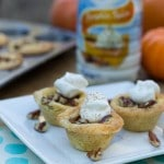 Pumpkin Tassies in a Sugar Cookie Crust