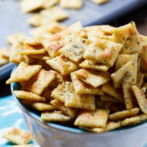 Ranch Cheez-Its- make a great game day snack.
