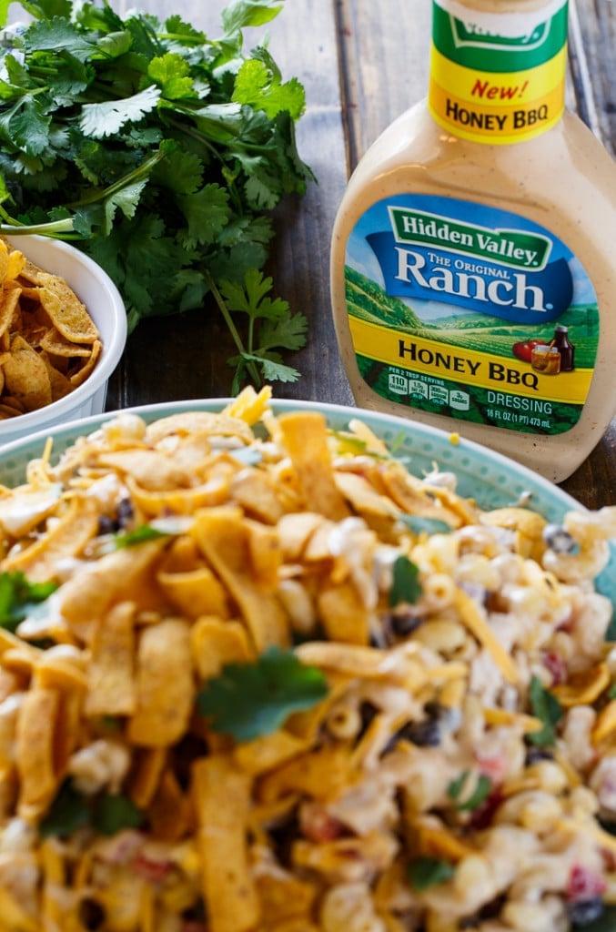 Bbq Ranch Pasta Salad Spicy Southern Kitchen
