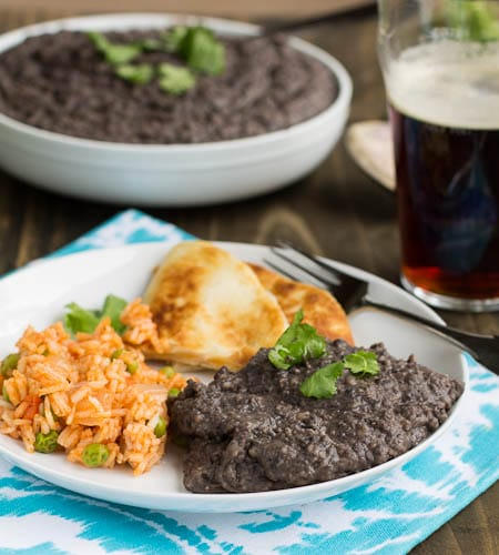 Refried Black Beans - Spicy Southern Kitchen
