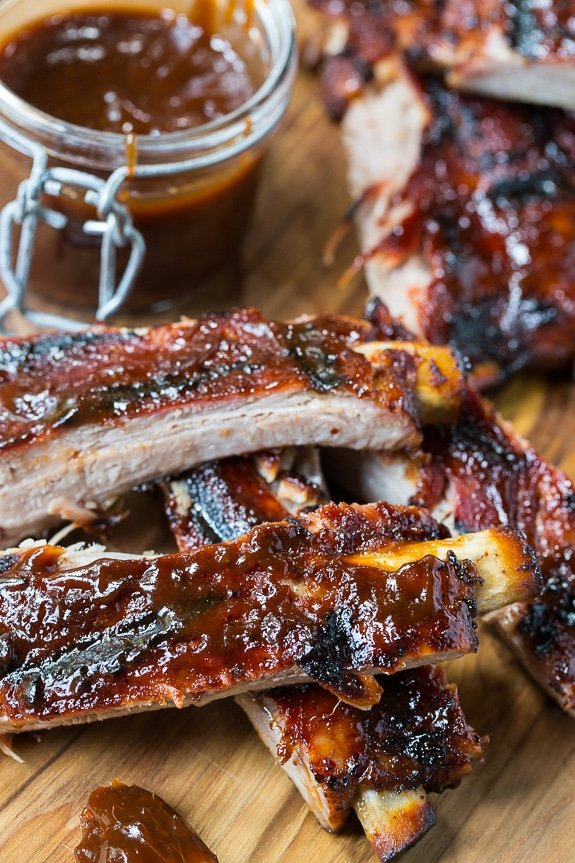 Honey Chipotle Ribs are sweet and spicy and super easy to make from just a few basic ingredients.