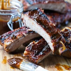 Honey Chipotle Ribs - these super tender ribs are easy to make with just a few basic ingredients.