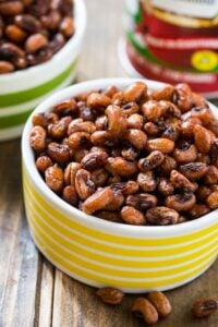 Crispy and spicy Roasted Black-Eyed Peas