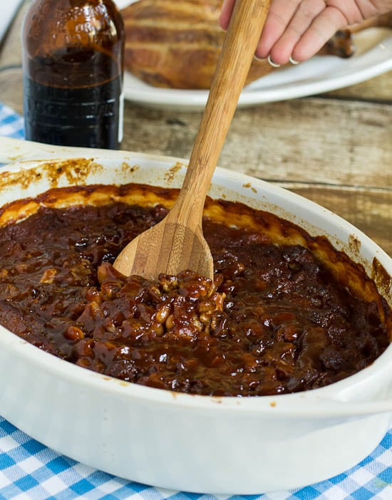 Root Beer Baked Beans - Spicy Southern Kitchen