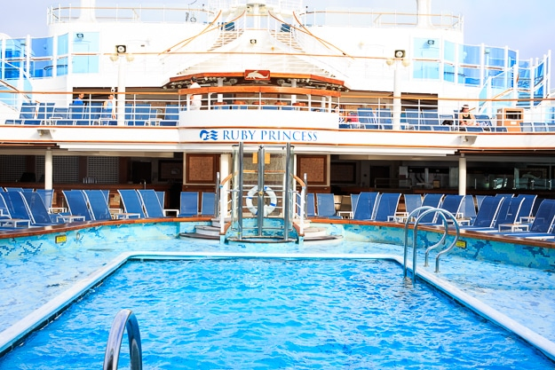 Ruby Princess Pool #comebacknew