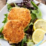 Southern Salmon Patties - so easy and inexpensive to make from canned salmon.