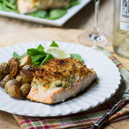 Baked Salmon Stuffed With Mascarpone Spinach Spicy