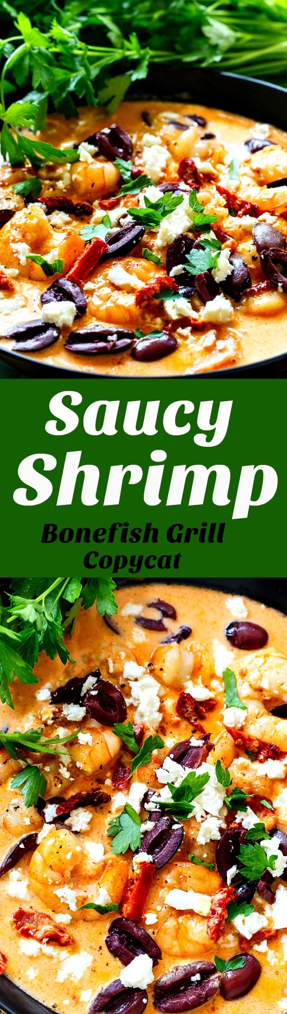 Saucy Shrimp- Bonefish Grill copycat. One of my favorite appetizers!