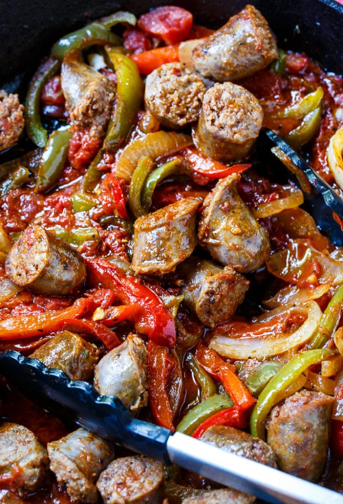 Italian Sausage And Peppers Spicy Southern Kitchen