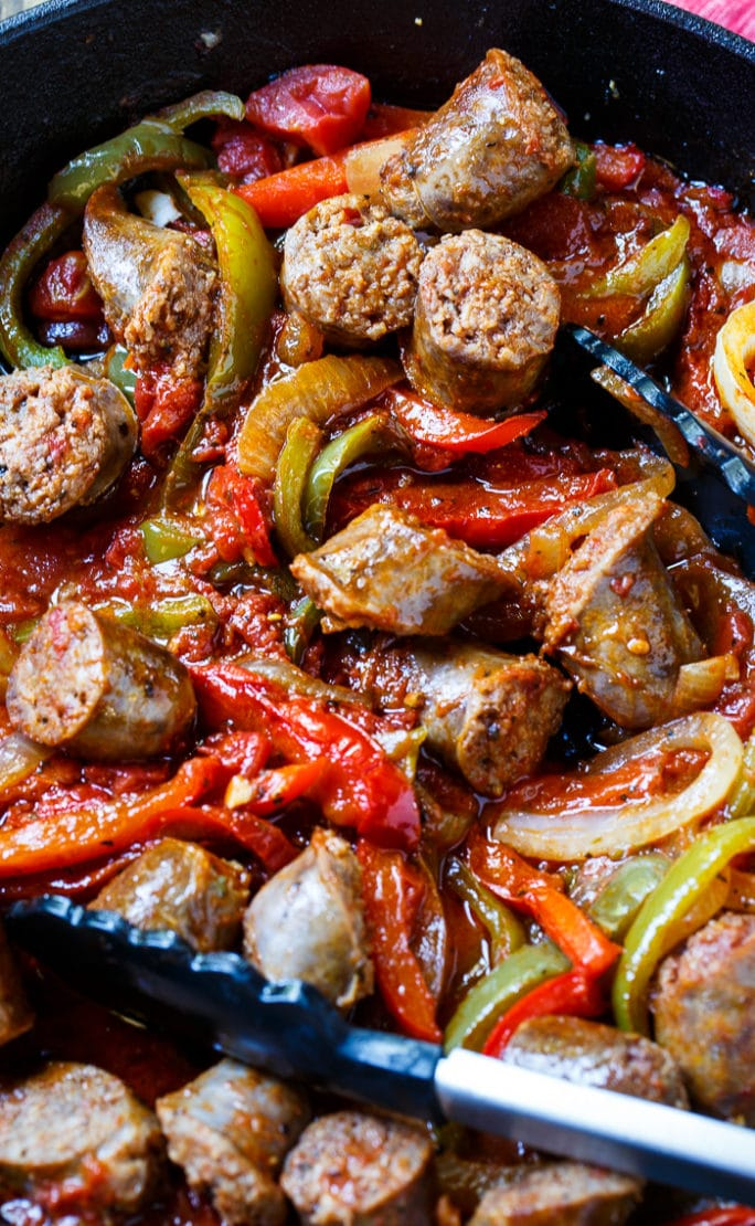 Italian Sausage and Peppers