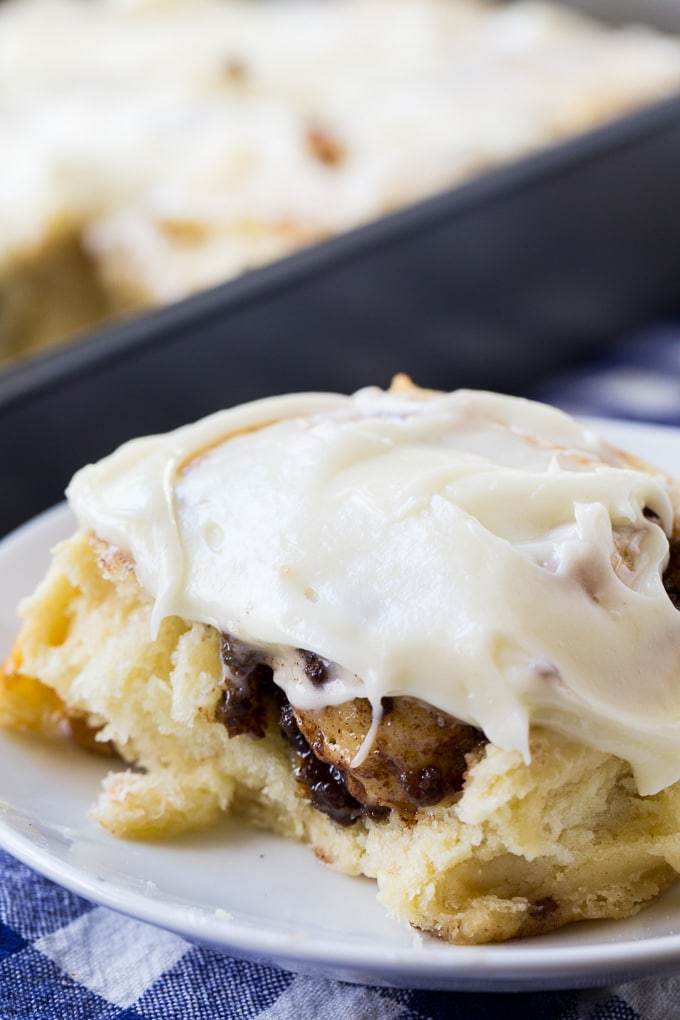 Sausage Cinnamon Rolls are perfectly sweet and savory!