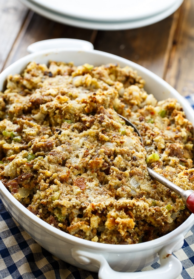 Sausage Stuffing Spicy Southern Kitchen