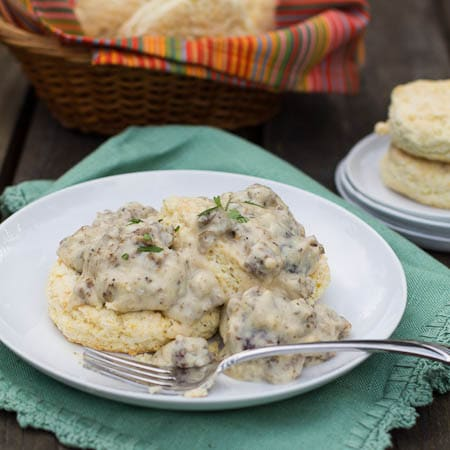 Southern Sausage Gravy - Spicy Southern Kitchen