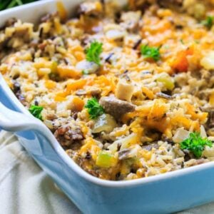 Sausage and Rice Casserole