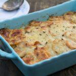 Caramelized Onion and Potato Gratin