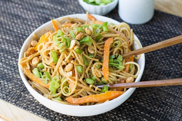 Peanut Sesame Noodles - Spicy Southern Kitchen