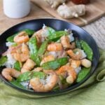 Gingered Stir Fry with Shrimp and Snow Peas
