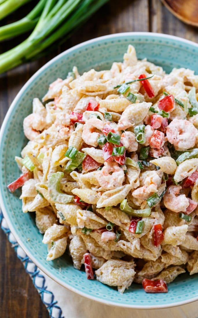 Shrimp Remoulade Pasta Salad