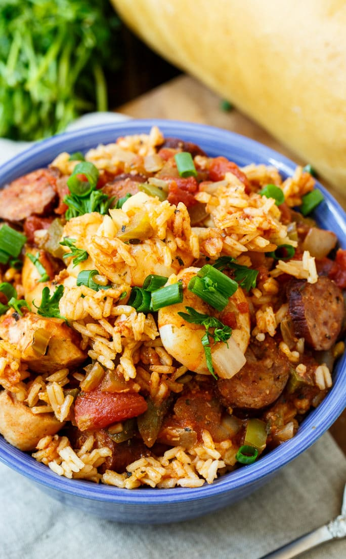Slow Cooker Jambalaya Spicy Southern Kitchen