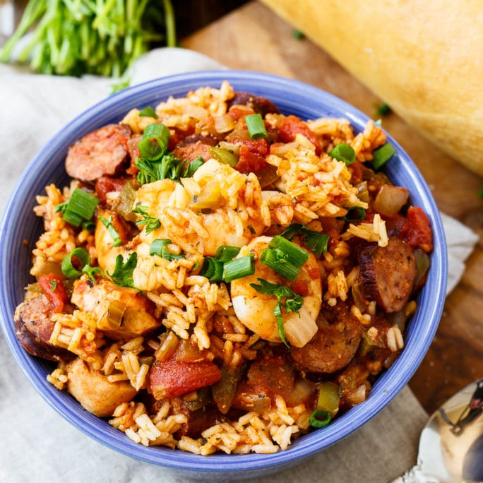 Slow cooker jambalaya spicy southern kitchen slow cooker jambalaya forumfinder Images