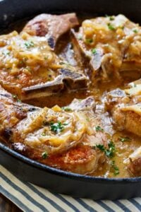 Southern-Style Smothered Pork Chops