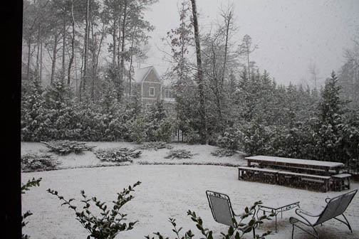 snow in Fort Mill