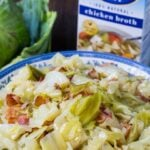 Southern Cabbage with bacon