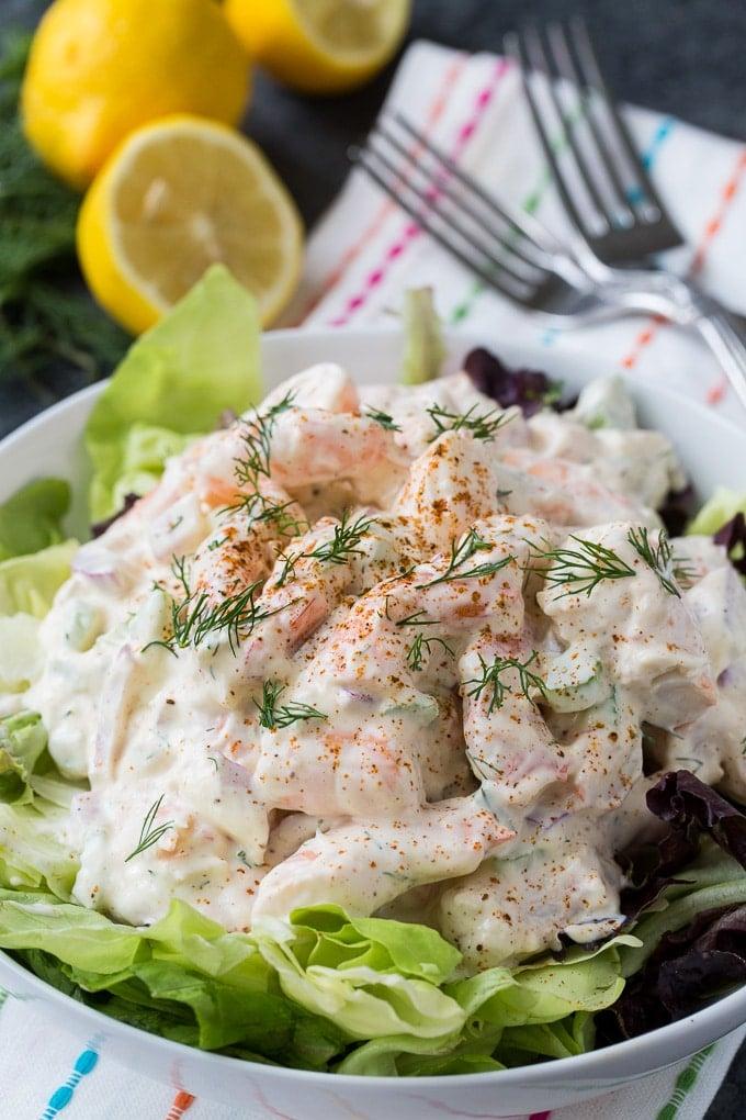 Creamy Southern Shrimp Salad