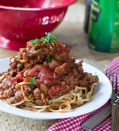 Southern Spaghetti Sauce - Spicy Southern Kitchen