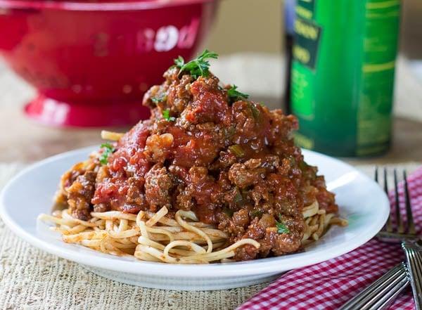 Southern Spaghetti Sauce
