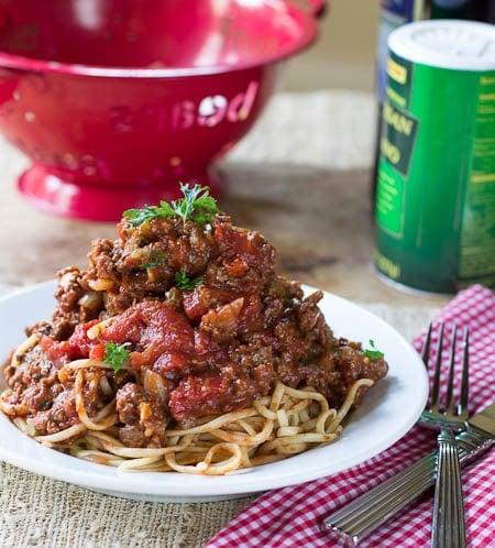 Sothern Spaghetti Sauce